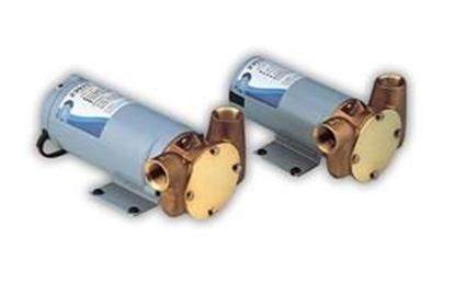 Bomba de impulsor flexível Utility Puppy 2000 - 32 lts/m Jabsco
