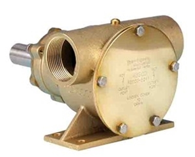 "Picture of Jabsco 52200 1 1/2"" bronze pedestal pump"