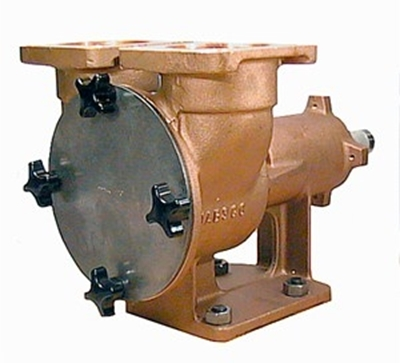 "Picture of Jabsco 29860 2 1/2"" bronze pedestal pump"