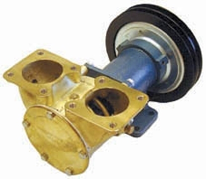 "Picture of F9B-5600 TSS- 2"" extra heavy duty electro-magnetic clutch pump"