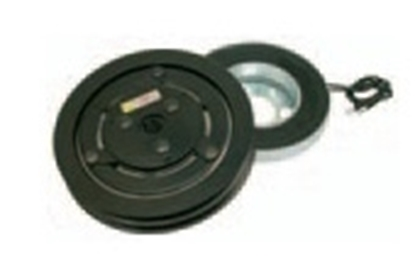 Picture of Electro-magnetic clutch, 12 V 2xA pulley