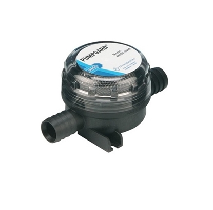 Picture of Jabsco strainer pumpgard inline model for 19 mm id hose.