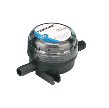 Picture of Jabsco water strainer pumpgard inline model for 13 mm id hose.