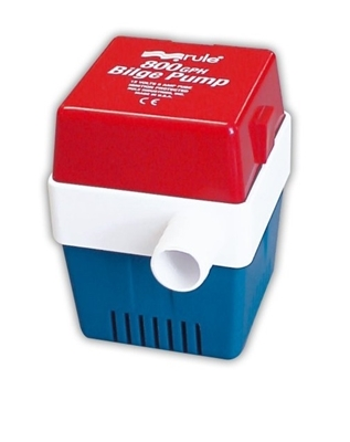 Picture of Rule 800 bilge pump - square