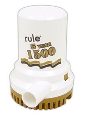 Picture of Rule 1500 bilge pump gold series