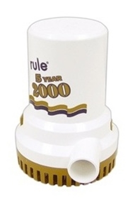 Picture of Rule 2000 bilge pump gold series