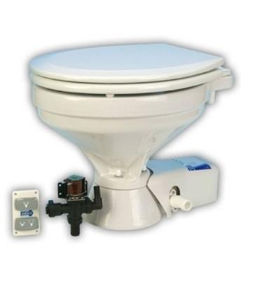Sanita descarga silenciosa compacta com electroválvula