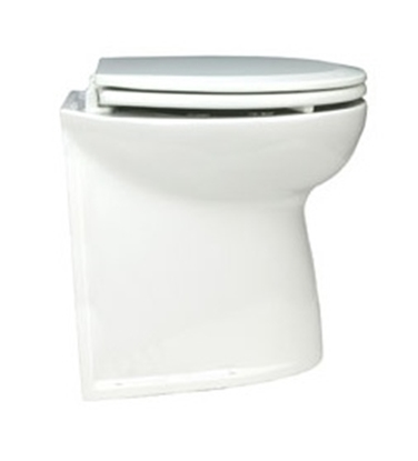 "Picture of Deluxe Flush toilets 14"" straight back w/ solenoid valve"