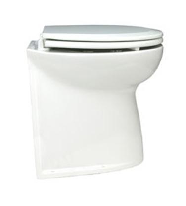 """Sanita eléctrica Deluxe Flush 14"""" vertical c/ válvula solenóide"""