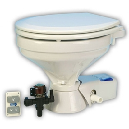 Picture of Quiet Flush regular electric toilet with solenoid valve