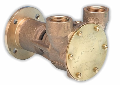 "Picture of Jabsco 9970 flange mount 3/4"" pump"