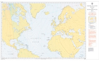 NORTH ATLANTIC OCEAN AND MEDITERRANEAN SEA