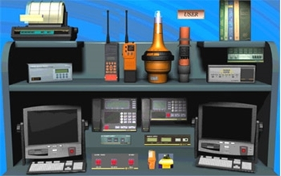 Picture of GMDSS Simulator