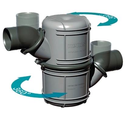 Colector silencioso Vetus NLP 10 litros