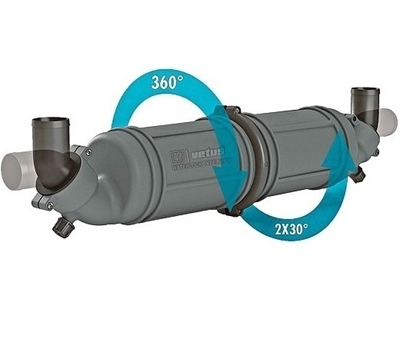 Picture of VetusWater muffler NLPH 10 litres