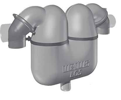 Picture of Separador de gases/água Vetus LGS4038