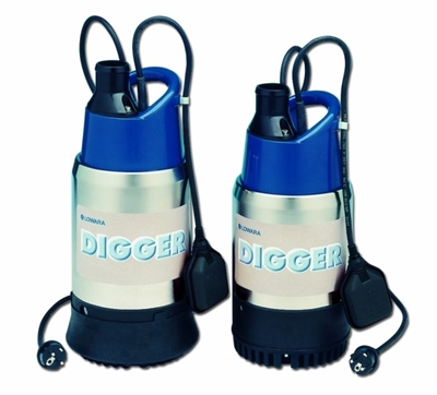 Electrobombas submersíveis para drenagem DIGGER Lowara