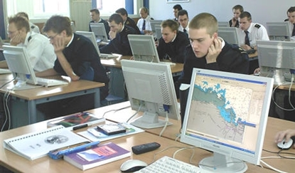 Picture of ECDIS  training software system
