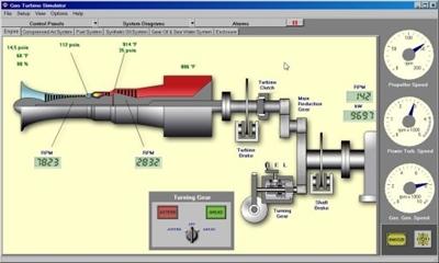Picture of Simulador de uma turbina a gás (GTS)