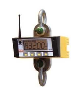 Dinamómetro 01TX com telecomando com ecrã de visualização