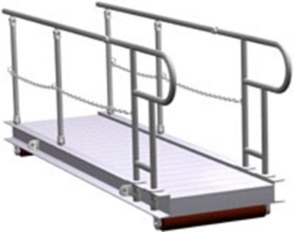 Picture of Aluminium gangway ladder