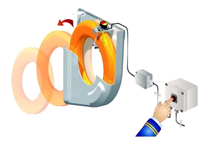 Picture of Hammar lifebuoy release system