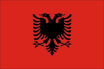 Bandeira Albânia