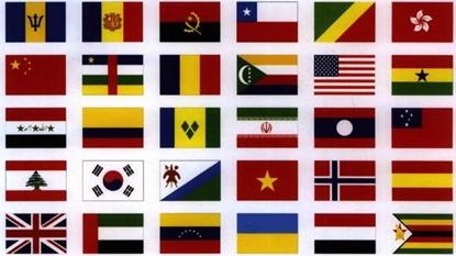 Bandeiras de 2 panos
