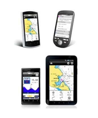 Picture of Mobile Android marine & lakes cartography