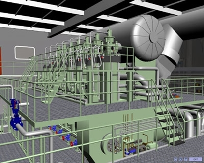 Picture of Engine Room Simulator Low speed (LER3D)
