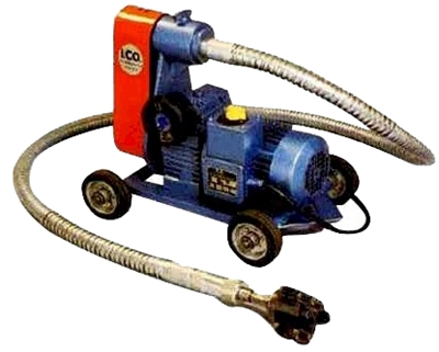 Equipamento para limpeza de tubos eléctrico