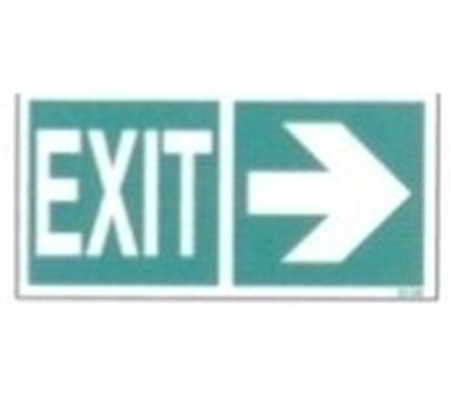 Picture of LLL Sign - exit ( right from here )