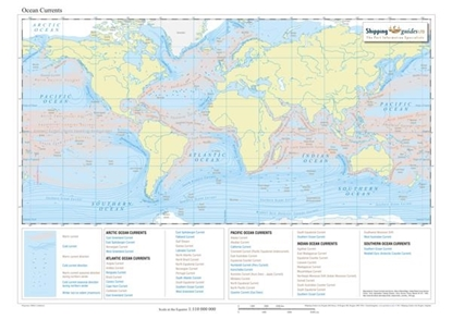 Picture of Ocean Currents Map