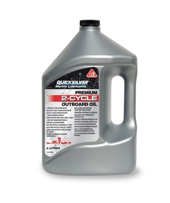 Picture of Quicksilver Premium 2 stroke outboard engine oil