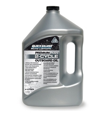 Picture of Quicksilver Premium Plus  2 stroke outboard engine oil