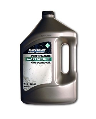 Picture of Quicksilver 4 stroke SAE outboard engine oil (10W-30)