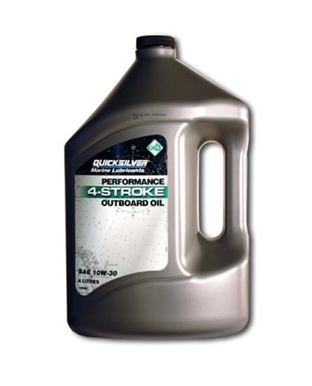 Picture of Quicksilver 4 stroke SAE outboard engine oil (10W-30)