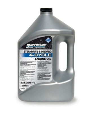 Picture of Quicksilver MerCruiser engine oil (25W-40)