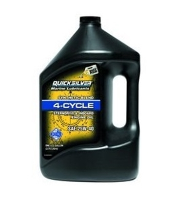 Picture of Quicksilver MerCruise synthetic blend engine oil (25W-40)