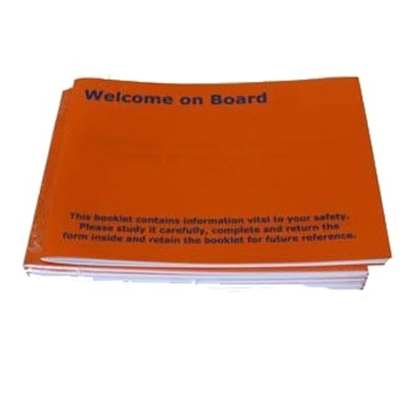 Picture of Welcome-on-Board booklet