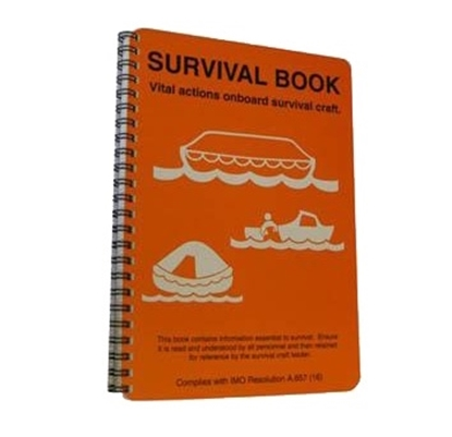 Picture of Lifeboat & liferaft survival booklet