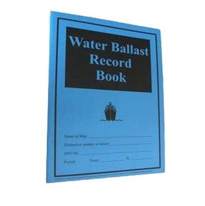 Picture of Water Ballast Record Book