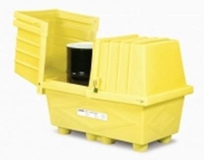 Picture of Caixa de armazenamento  2 x 200 lts - OSS 2 p/ exterior