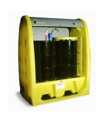 Picture of Caixa de armazenamento com palete SP 2 HC p/ exterior