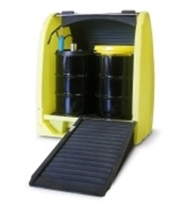 Picture of SP 4 HC - 4 Drum Hardcover With Pallet for outside storage