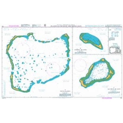 Picture of BRITISH INDIAN OCEAN TERRITORY / Plans in Chagos Archipelago