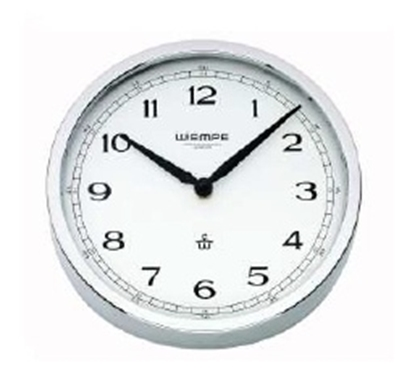 Analogue marine clock stainless steel Ø 200mm
