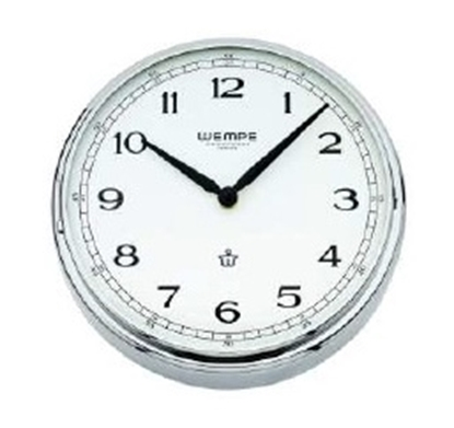 Analogue marine clock chrome Ø 215mm