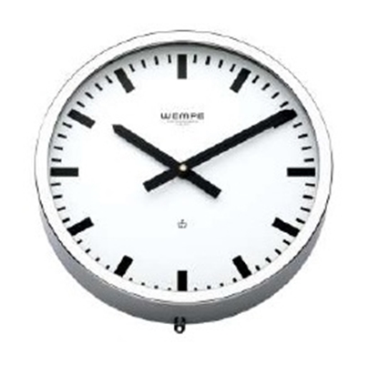 Analogue marine clock chrome Ø 235mm