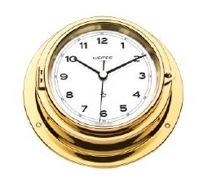 Picture of Analogue marine clock brass Ø 225mm